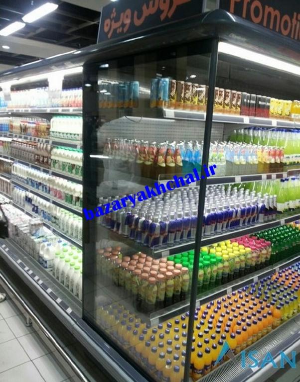 قیمت یخچال فروشگاهی بدون درب